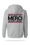 Sweat-shirt Capuche J&M gris